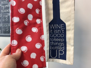 Decorative Wine Bag