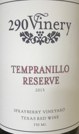290 Vinery Res Tempranillo