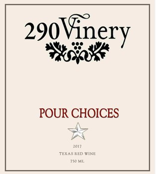 290 Vinery Pour Choices