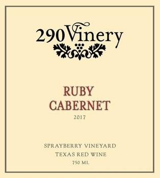 290 Vinery Ruby Cabernet