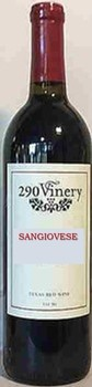 290 Vinery Sangiovese Image