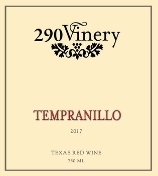 290 Vinery 17 Tempranillo
